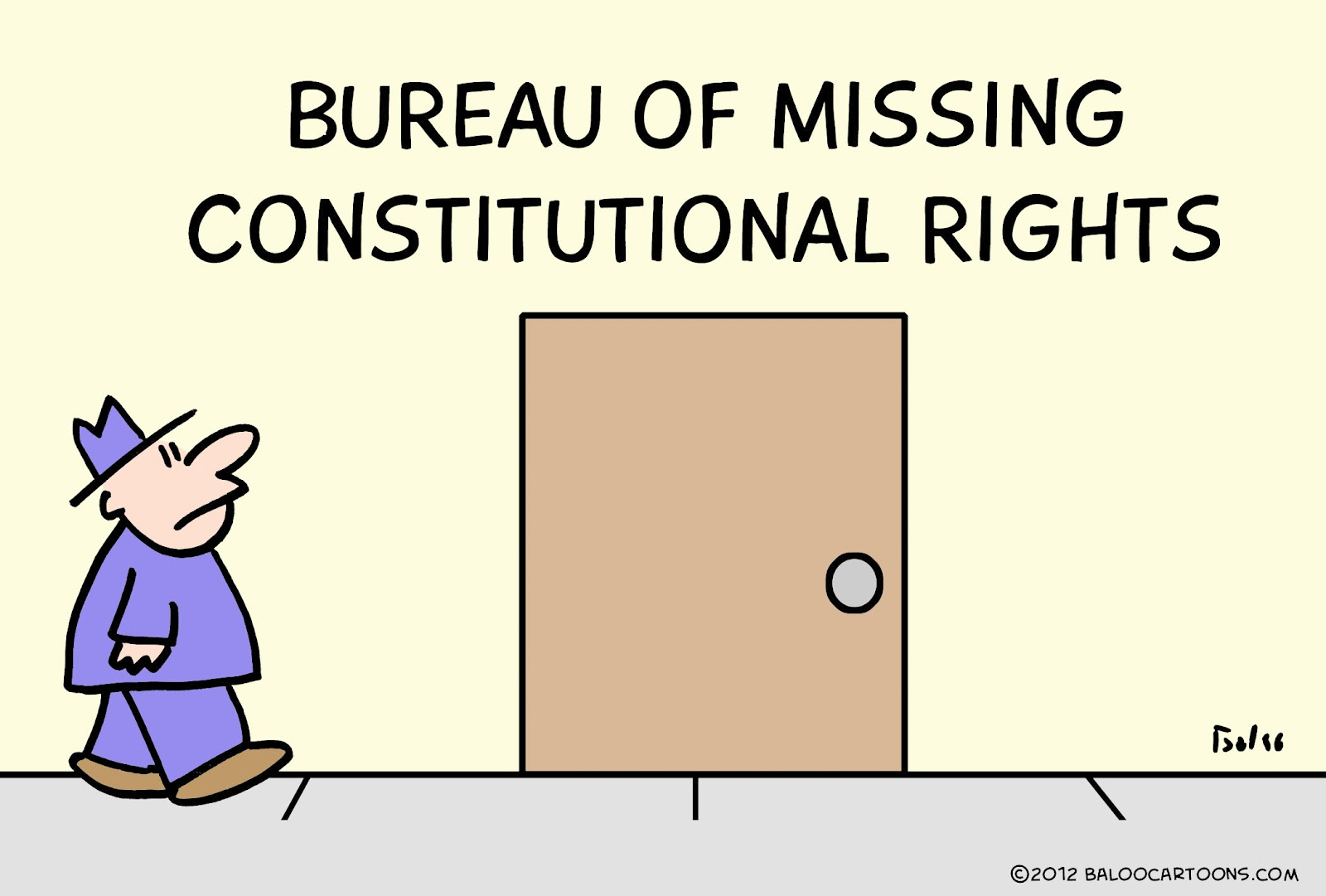 Bureau Of Missing Constitutional Rights
